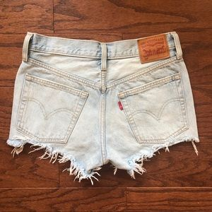 Cutoff Levi's Denim Shorts